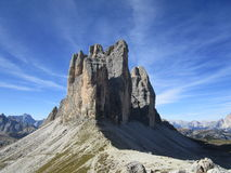 Tre cime Royalty Free Stock Photo