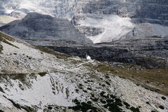 Tre Cime Church Trail Royalty Free Stock Photo