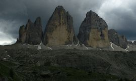 Tre Cime de Lavaredo Royalty Free Stock Photo