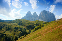 Tre Cime di Lamar Stock Photography