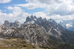 Tre Cime di Lavaredo 14-13 Stock Photography