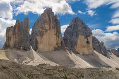 Tre Cime di Lavaredo Stock Photos