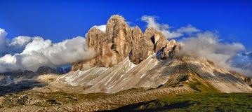 Tre cime Di lavaredo Royalty-vrije Stock Fotografie