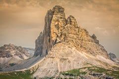 Tre Cime di Lavaredo in Cortina d'Ampezzo, - Dolomites, Italy Stock Photography