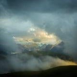 Tre Cime di Lavaredo. Dolomites alps. Italy Stock Image