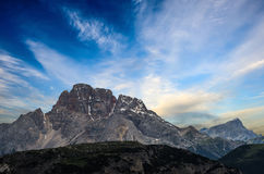 Tre Cime di Lavaredo. Dolomites alps. Italy Royalty Free Stock Photography