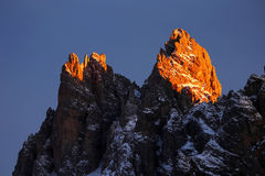 Tre Cime di Lavaredo Royalty Free Stock Photos