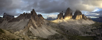 Tre Cime di Lavaredo Royalty Free Stock Photography