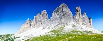 Tre Cime Di Lavaredo, dolomity, Alps Obrazy Royalty Free