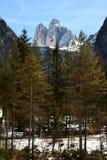 Tre Cime di Lavaredo Drei Zinnen, dolomites, Vêneto Fotografia de Stock Royalty Free