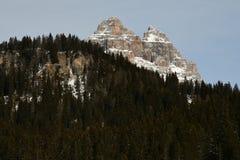 Tre Cime di Lavaredo Drei Zinnen, dolomites, Vêneto Imagem de Stock Royalty Free