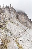 Tre Cime Di Lavaredo, het Sexten-Dolomiet royalty-vrije stock foto