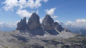 Tre Cime Di Lavaredo, Italien lizenzfreies stockbild
