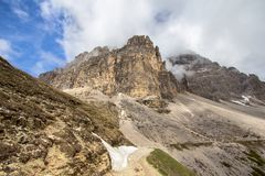 Tre Cime Di Lavaredo, Italien Lizenzfreie Stockfotografie