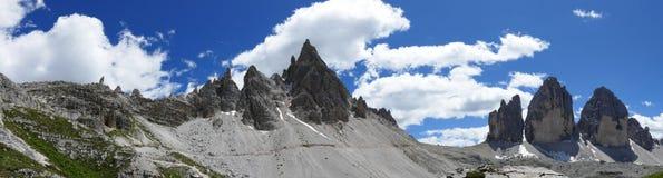 Tre Cime Di Lavaredo Italy Imagens de Stock Royalty Free