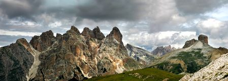 Tre Cime di Lavaredo - Landscape Royalty Free Stock Photos