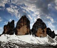Tre cime di Lavaredo Stock Photography