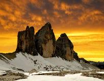 Tre cime di Lavaredo Royalty Free Stock Image