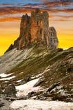 Tre cime di Lavaredo Stock Images
