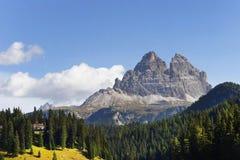 Tre Cime di Lavaredo (tres picos) Imagen de archivo