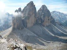 Tre Cime/Drei Zinnen - Dolomiet Italië Royalty-vrije Stock Afbeelding