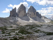 Tre Cime Lavaredo 2 Royalty Free Stock Photo