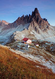 Tre cime - Włochy dolomity Zdjęcia Stock