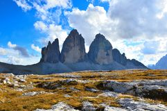 Tre cime Royalty Free Stock Images