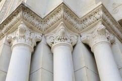 Tre colonne Immagini Stock