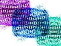 Tre colori Fotografia Stock