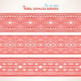 Tre confini senza cuciture tribali - 2 Fotografia Stock