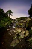 Tre contee dirigono la cascata Fotografia Stock