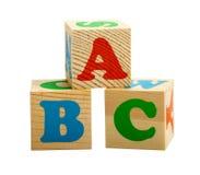 Tre cubi Immagini Stock Libere da Diritti