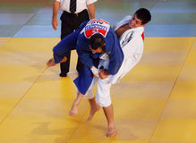 tre de tournoi de torri de judo de l'international 25 Photo stock