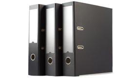 Tre dispositivi di piegatura Fotografia Stock