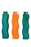 Tre exklusiva flaskor Royaltyfri Bild