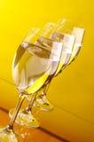 Tre exponeringsglas Fotografering för Bildbyråer