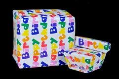 Födelsedaggåvor. Fotografering för Bildbyråer