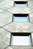 Tre finestre Fotografia Stock