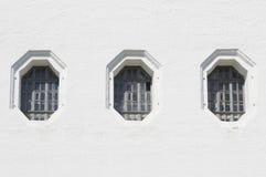 Tre finestre Fotografie Stock Libere da Diritti