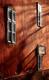 Tre finestre Fotografia Stock Libera da Diritti