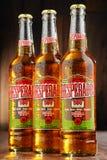 Tre flaskor av desperadoöl Fotografering för Bildbyråer