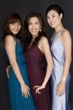 Tre flickor Arkivbild