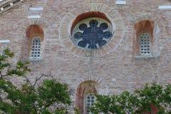 Tre Fontane Abbey en Roma Fotos de archivo
