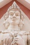 Tre fronti delle statue Fotografia Stock
