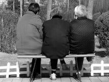 Tre gamla systrar Royaltyfri Fotografi