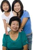Tre generazioni Immagini Stock Libere da Diritti