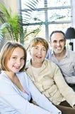 Tre generazioni Immagine Stock