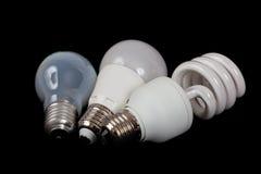 Tre generazioni di luci Immagini Stock