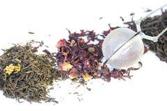 Tre generi di tè Immagine Stock Libera da Diritti